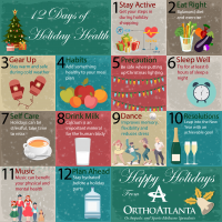 Holiday health tips from OrthoAtlanta