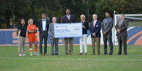 Clayton State Athletics receives donation from OrthoAtlanta