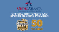 OrthoAtlanta is official sponsor of the 50th Anniversary 2017 Chick-fil-A Peach Bowl