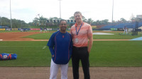 Dr. Fowler at New York Mets Spring Training 2015