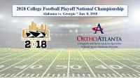 OrthoAtlanta proud to sponsor AFHC for 2018 College Football Playoff National Championship