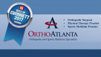 OrthoAtlanta voted Best of Gwinnett 2017