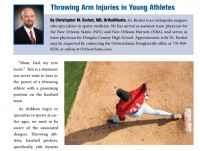 Throwing Arm Injuries in Young Athletes
