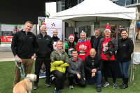 OrthoAtlanta physicians and staff at 2018 Jingle Bell Run hosted by the Arthritis Foundation of Georgia