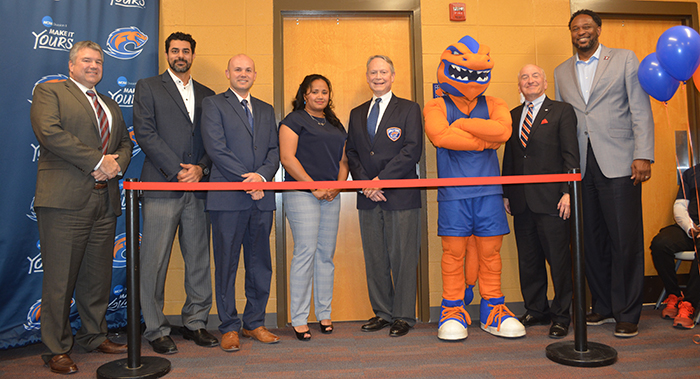 OrthoAtlanta Athletic Training Room ribbon cutting at Clayton State