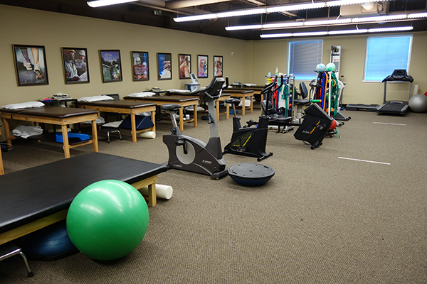 OrthoAtlanta Gwinnett Physical Therapy room