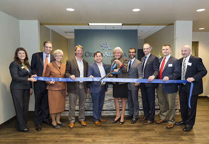 OrthoAtlanta Gwinnett Expansion ribbon cutting