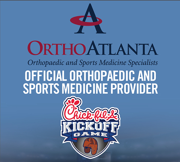 OrthoAtlanta Official Orthopaedic and Sports Medicine Provider of the Chick-fil-A Kickoff Game