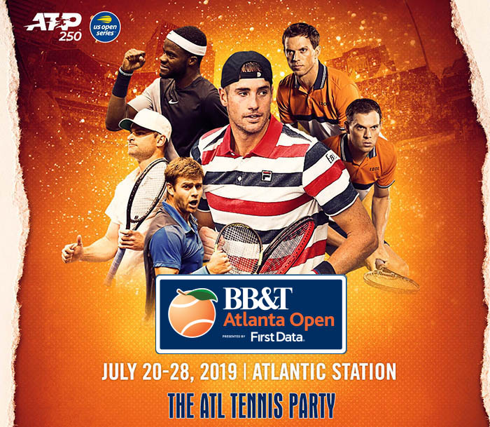 BB&T Atlanta Open 2019 Player Collage