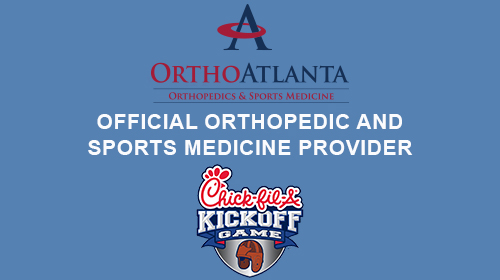 Official Orthopedic and Sports Medicine Provider of the Chick-fil-A Kickoff Game