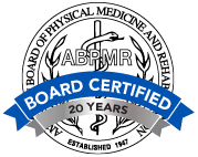 Board Certification logo of the American Board of Physical Medicine and Rehabilitation