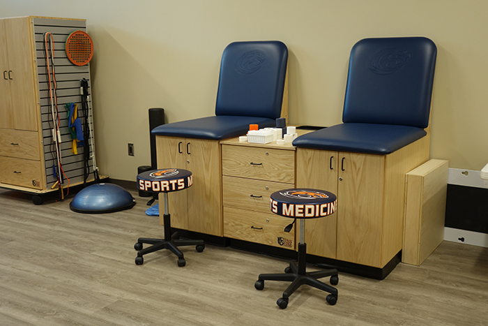 Clayton State Athletics Taping Station