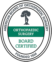 American Board of Orthopaedic Surgery Orthopaedic Surgery Board Certified logo