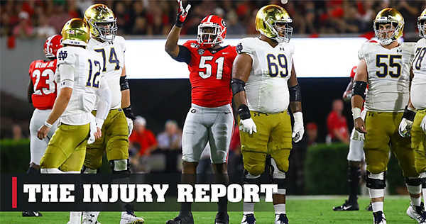 The Injury Report on DawgNation Daily