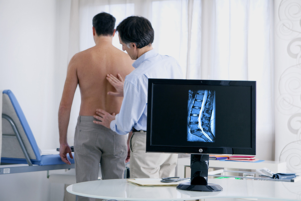 Doctor appointment for back pain