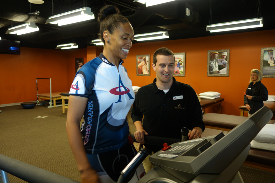 Dr. Sharrona Williams training for bike race
